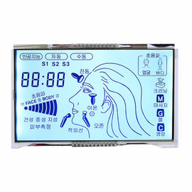 STN Positive Custom LCD Display , High Brightness Lcd Display For Beauty Instrument