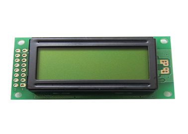 Yellow - Green 0802 Dot Matrix LCD Display Module COB Type Character 2 Lines