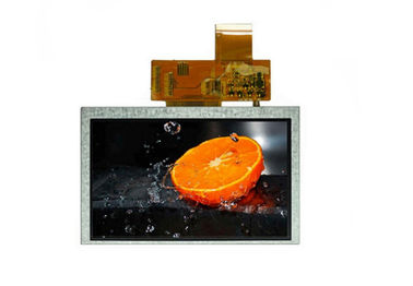 800 * 480 5 Inch Lcd Touch Screen , Industrial Instrument Resistance Touch Screen